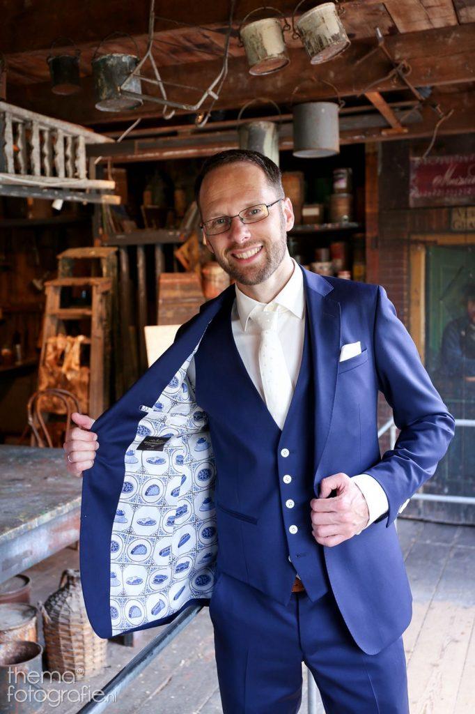 Trouwpak bij Tillemans Tailors te Hoorn