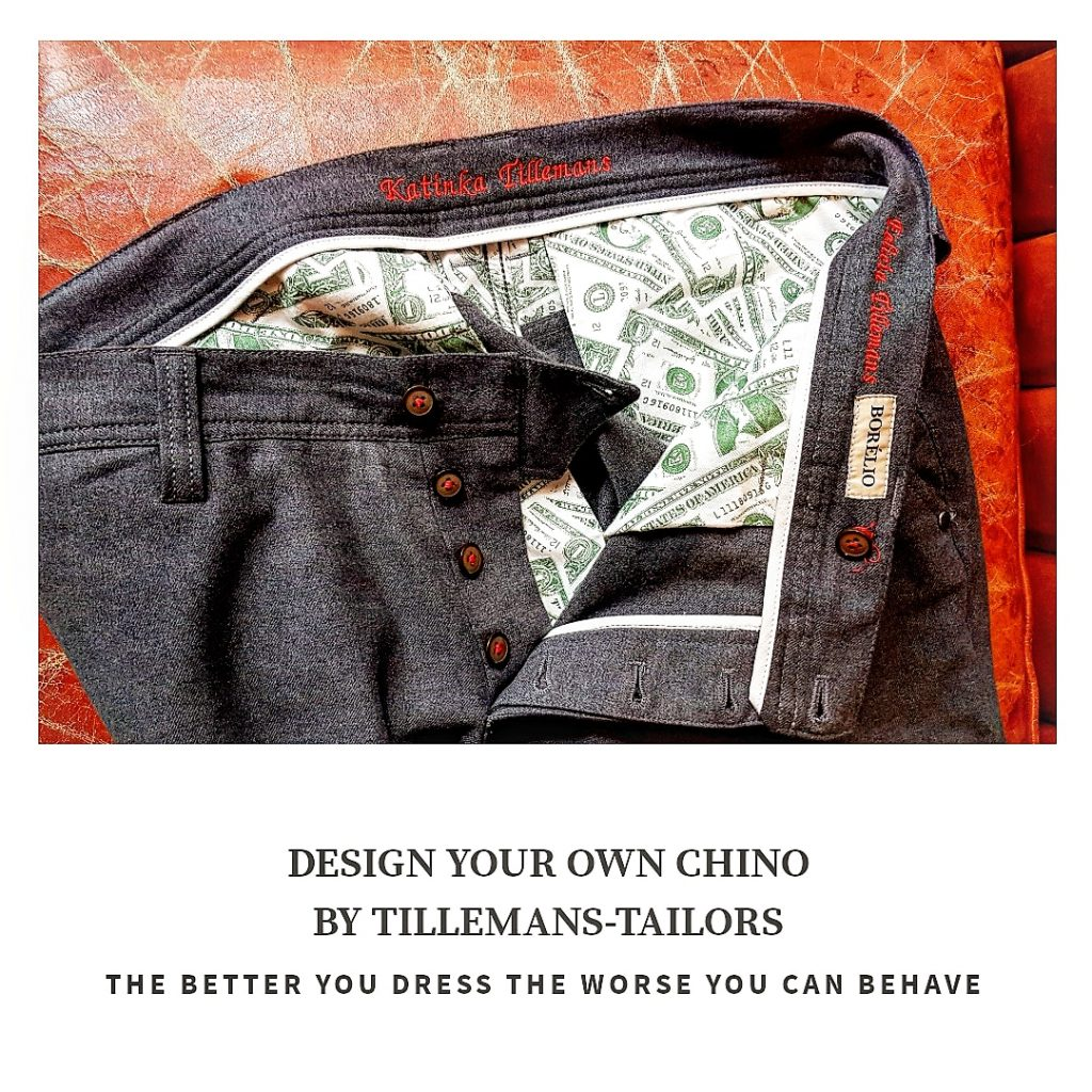 Chino bij Tillemans Tailors te Hoorn