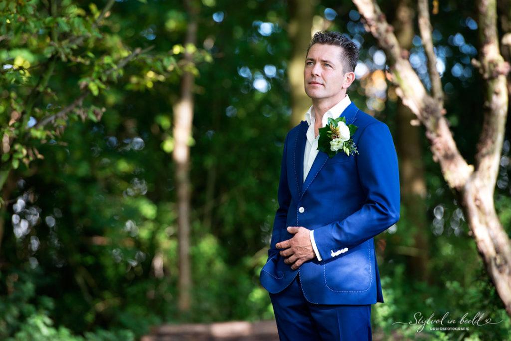 Tillemans Tailors in het mooie hoorn had de eer om dit mooie trouwpak te mogen maken.