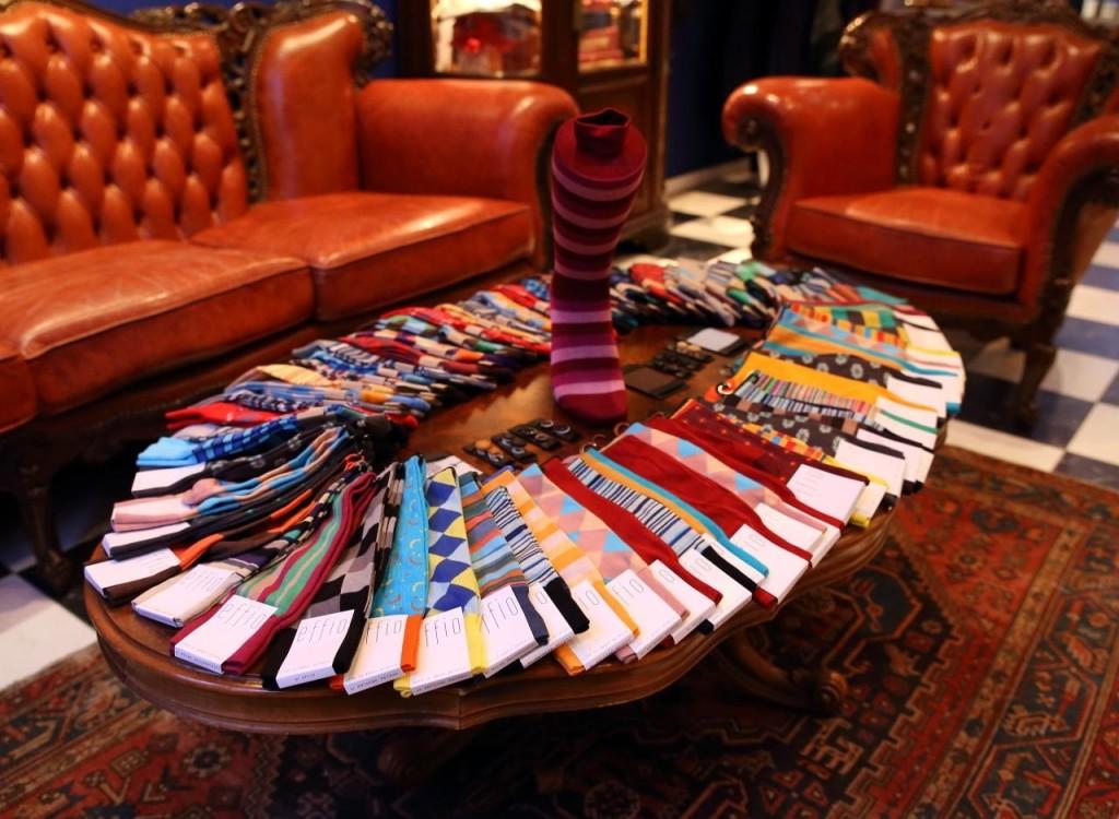 Maatpakken specialist Tillemans Tailors Den Haag en Hoorn heeft ook Effio sokken voor 14 euro!
