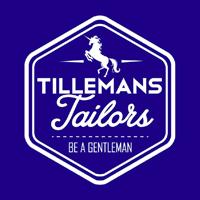 Het mooie logo van Tillemans Tailors met de eenhoorn.