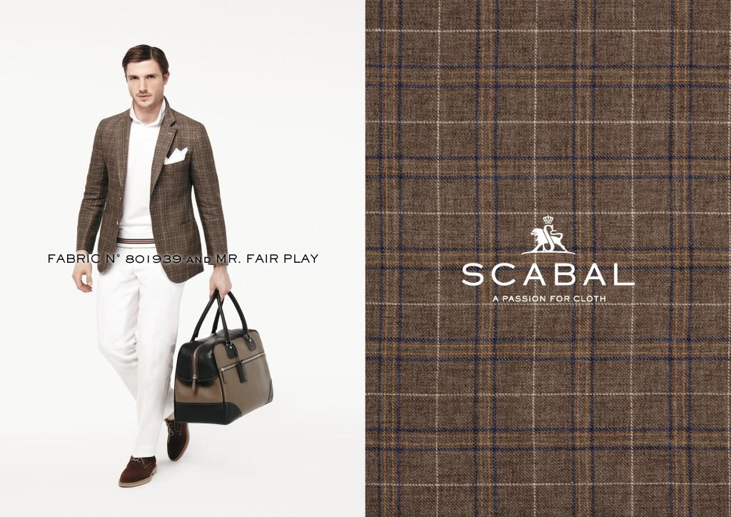 Scabal is 1 van onze stoffen leveranciers en 1 van onze produktie ateliers.