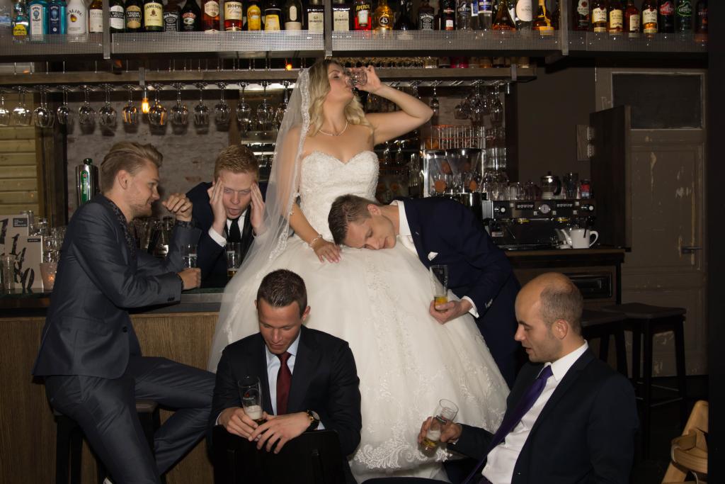 Rick & Romy Zonneveld gefotografeerd tijdens hun geslaagde bruiloft in 2015!!!